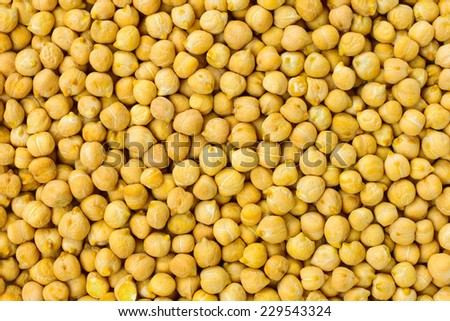 Chickpea seeds background or texture raw legume food - stock photo