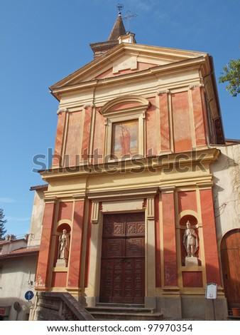 Chiesa di Santa Croce (Church of the Holy Cross) in Rivoli, Italy
