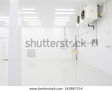 Chiken incubator - stock photo