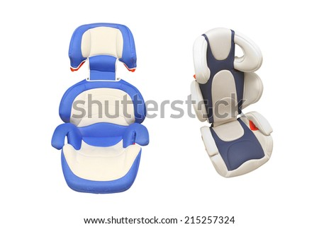 child car armchair under the light background  - stock photo