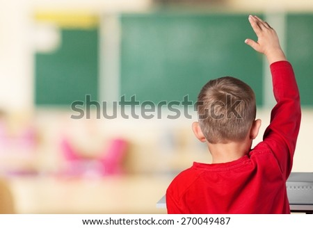 Child, Classroom, School.