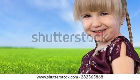 Child, Dancing, Offspring. - stock photo