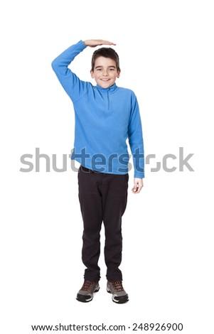 child growing - stock photo