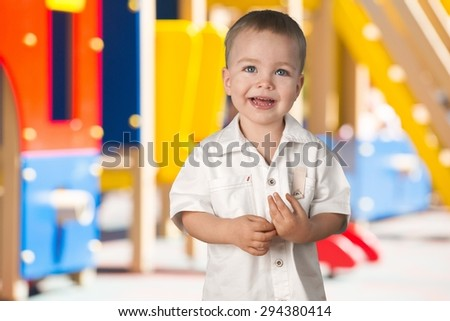 Child, Little Boys, Cheerful. - stock photo