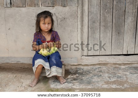 Child of Asia in Laos