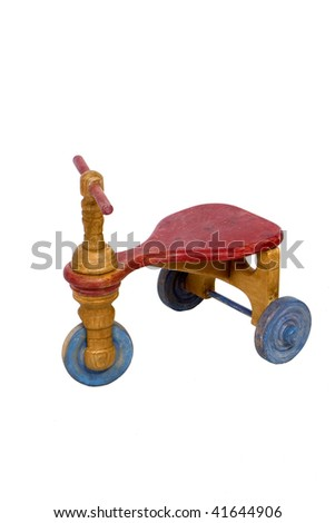 Child's Antique Trike - stock photo