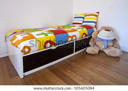 Child�´s bedroom - stock photo