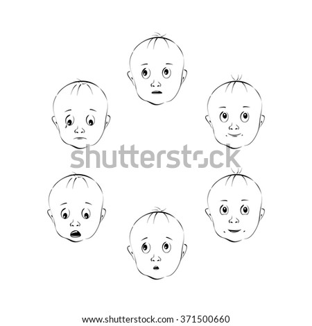 Child's facial expressions