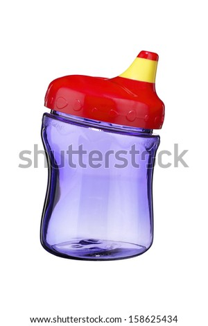 Child's Sippy Cup - stock photo