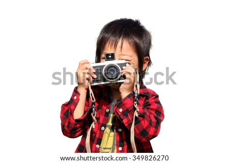 Child take pictures