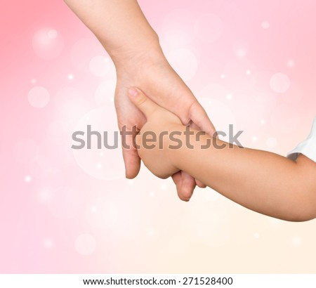 Child. Together - stock photo