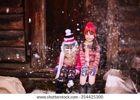 Children. - stock photo