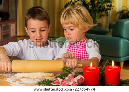 Peoplesoft stock photos images pictures shutterstock children baking cookies for christmas cookies for the christmas season stock photo ccuart Images