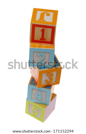 Children Blocks - stock photo