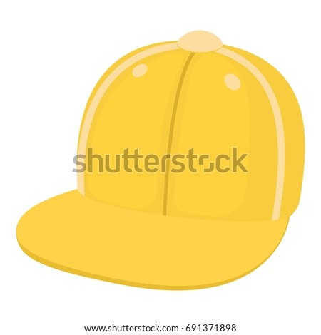 Children cap icon. Cartoon illustration of children cap  icon for web