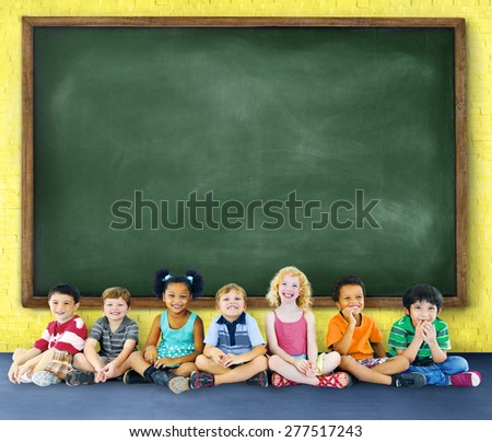 Children Kids Education Learning Cheerful Concept
