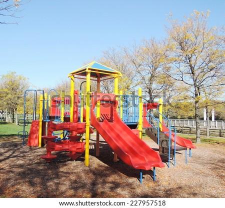 children playground - stock photo