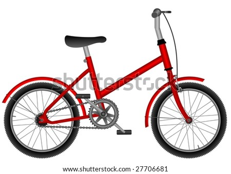 children red bicycle