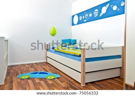 Children's bedroom - stock photo