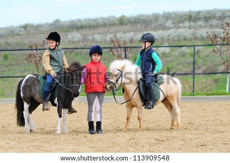 Children's equestrian