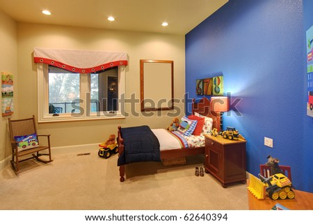Children's Room in Modern Home - stock photo