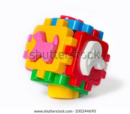 children's toys - stock photo