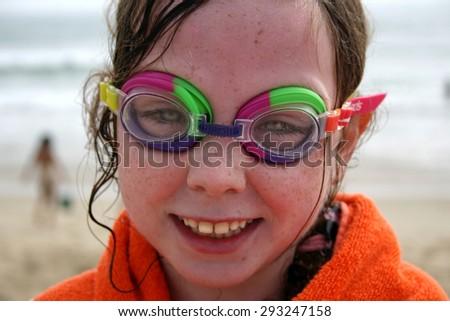 children's twin teeth - stock photo