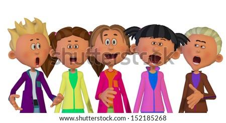 Vector Group Woman Speaking Diverse Ethnic Stock Vector ...
