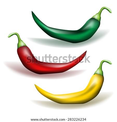 Chili Pepper - stock photo