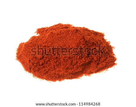 Chili powder - stock photo