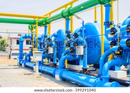chiller water pump with pressure gauge, water support.