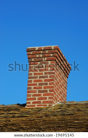 chimney - stock photo