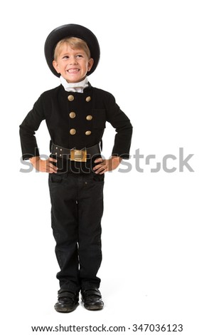 Chimney sweep kid