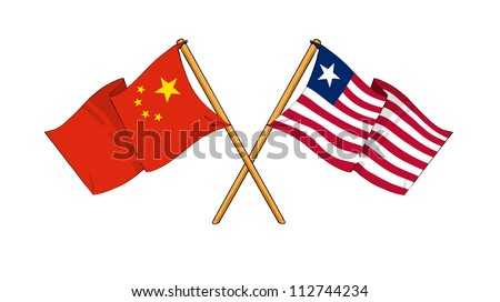 China and Liberia alliance and friendship