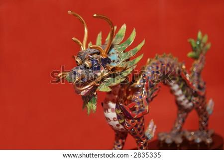 China doll 4 - stock photo