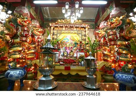 China town / shrine - stock photo