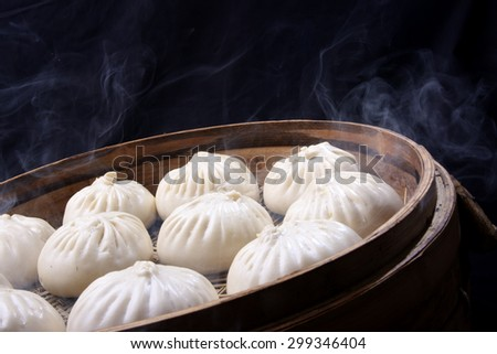Chinese bread - stock photo