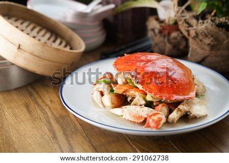 chinese crab - stock photo
