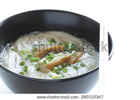 Chinese cuisine, chicken and rice noodles