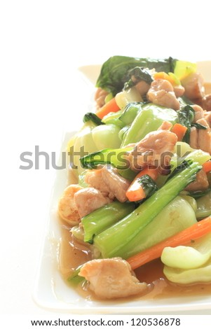 how to cook chinese vegetables green
