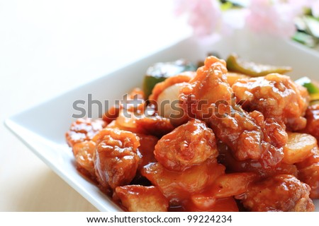 Sweet and sour sauce Stock Photos, Sweet and sour sauce Stock ...
