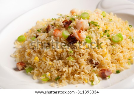 Chinese cuisine-Yangzhou fried rice