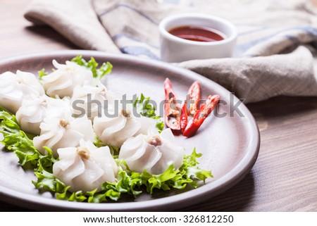 chinese dim sum - stock photo