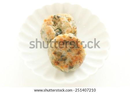 Chinese dim sum,  dumpling Pork and Chive Dumplings  - stock photo