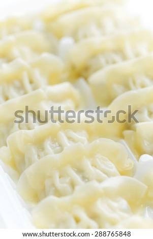 Chinese dim sum, meat dumpling - stock photo
