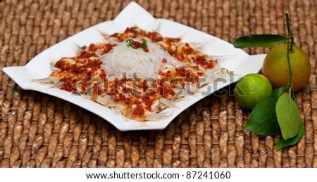 Chinese food - stock photo