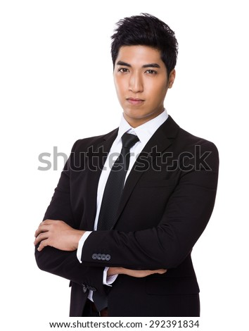 Chinese mixed Indian businessman