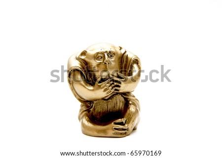 Chinese monkey - stock photo