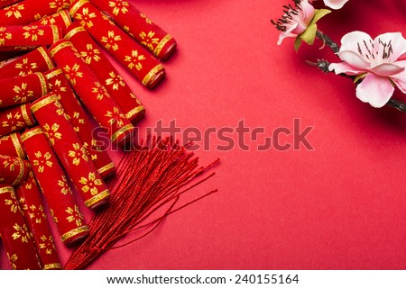 Chinese new year's decoration - stock photo
