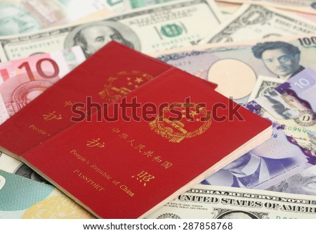 Chinese Passports and All Sorts of Banknotes